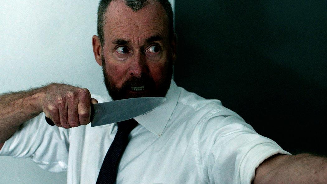 John C. McGinley in The Belko Experiment (2016) courtesy IMDB
