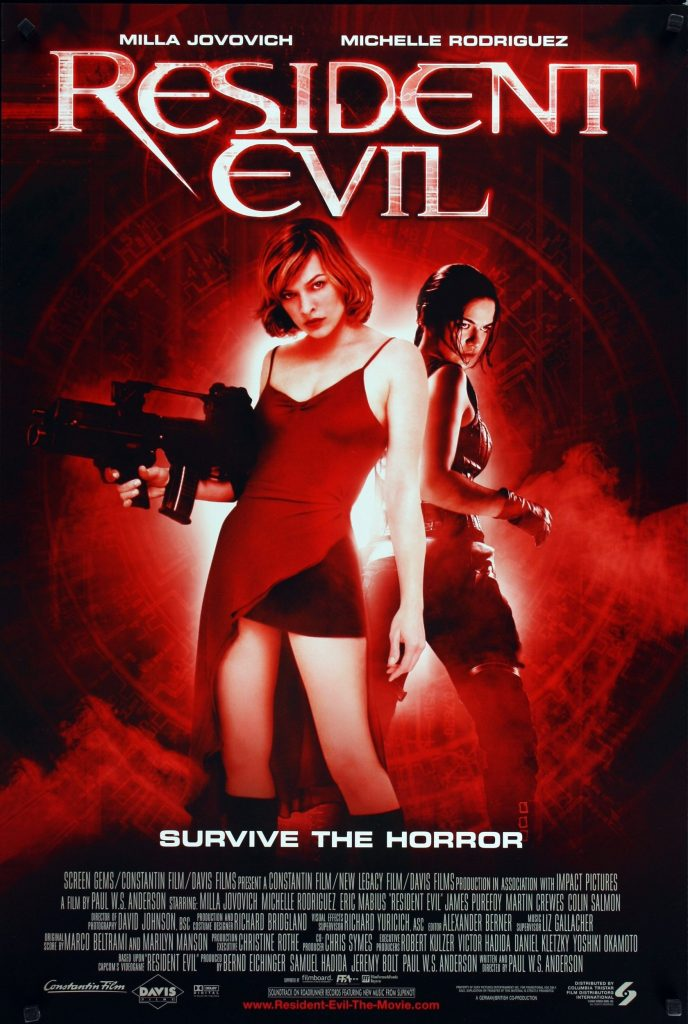 Resident Evil (2002) courtesy of IMDB