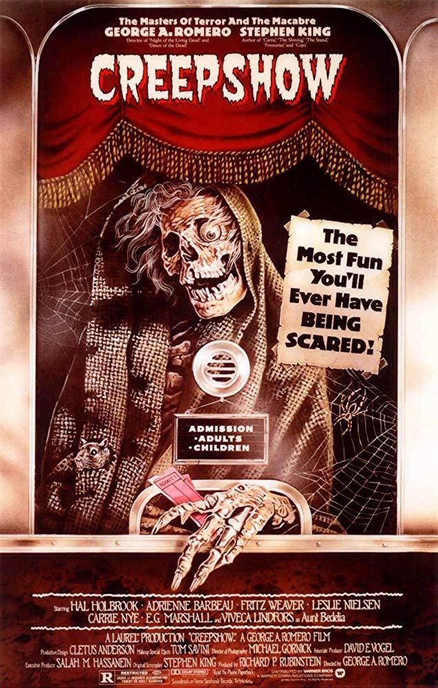 Creepshow (1982) theatrical poster courtesy of IMDB