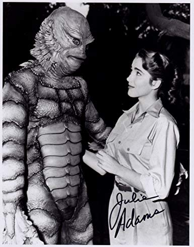 Signed production photo of Creature from the Black Lagoon (1954)
