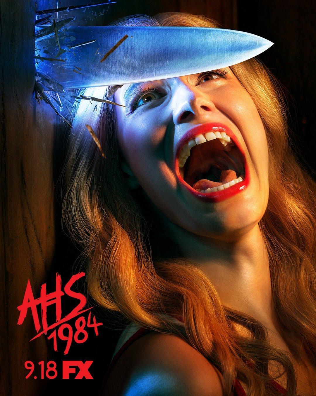 AHS 1984 Slasher Poster