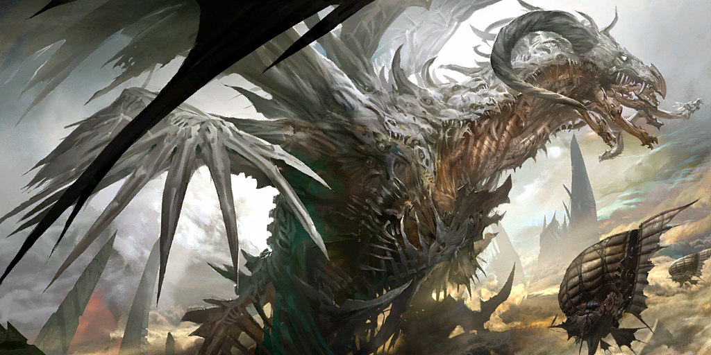Zhaitan the Dragon of GW2