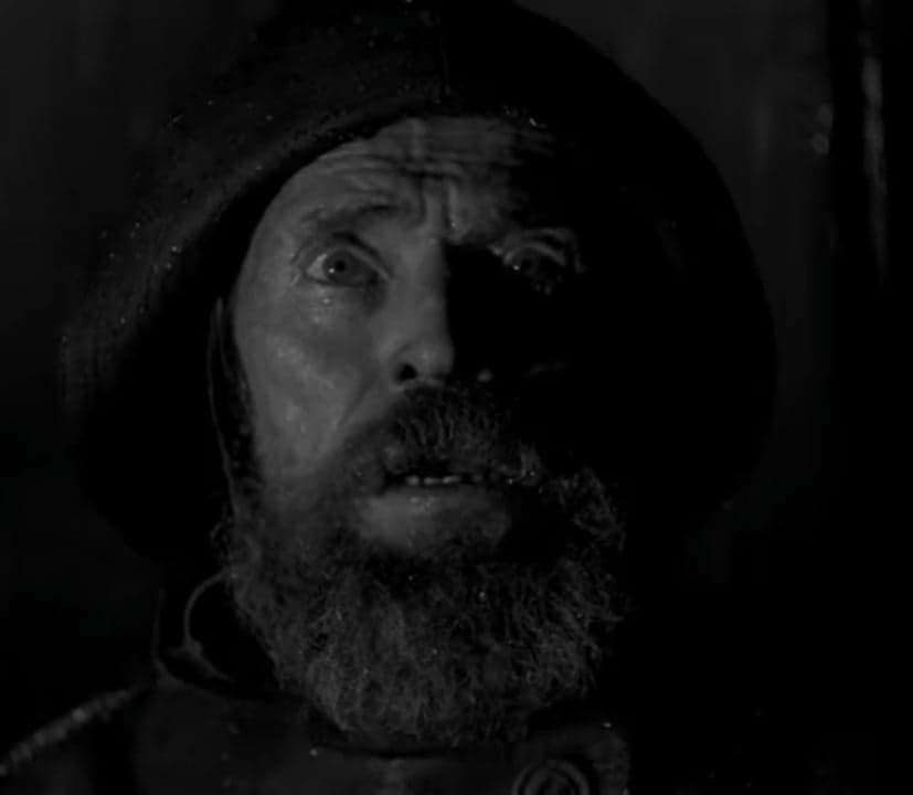 screenshot of Willem Dafoe in The Lighthouse