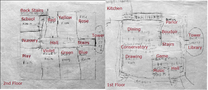 Hill house blue prints