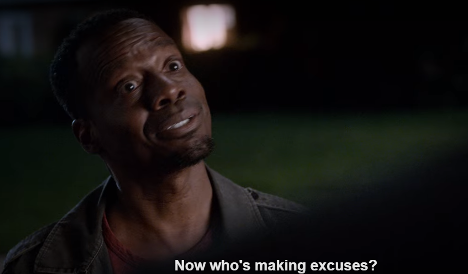 Lucifer makes excuses.