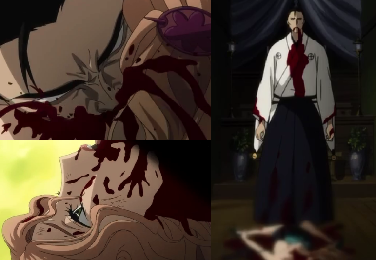 Blood C censors badly
