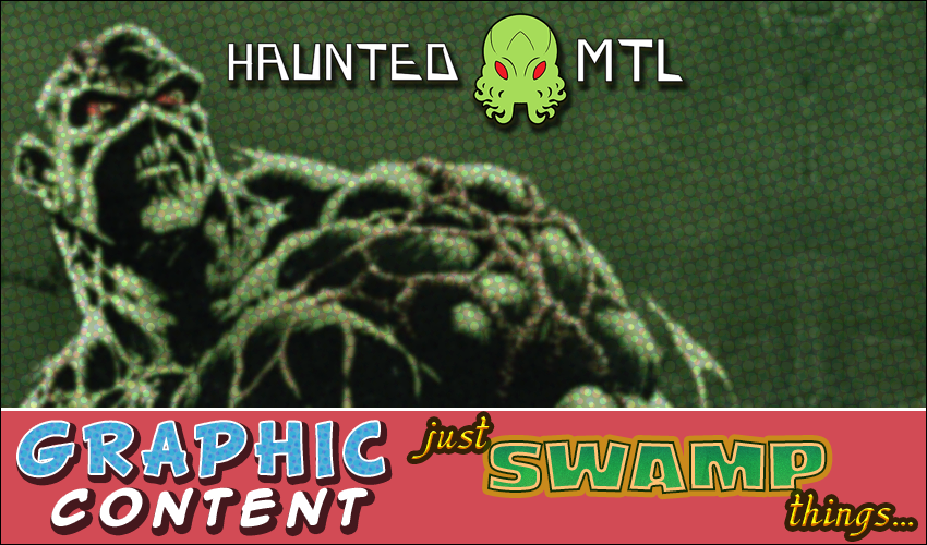 The graphic for Just Swamp Things