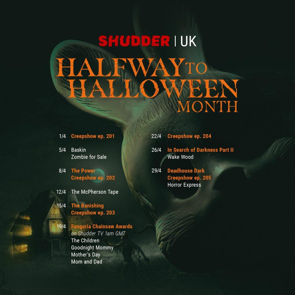 Shudder schedule image UK