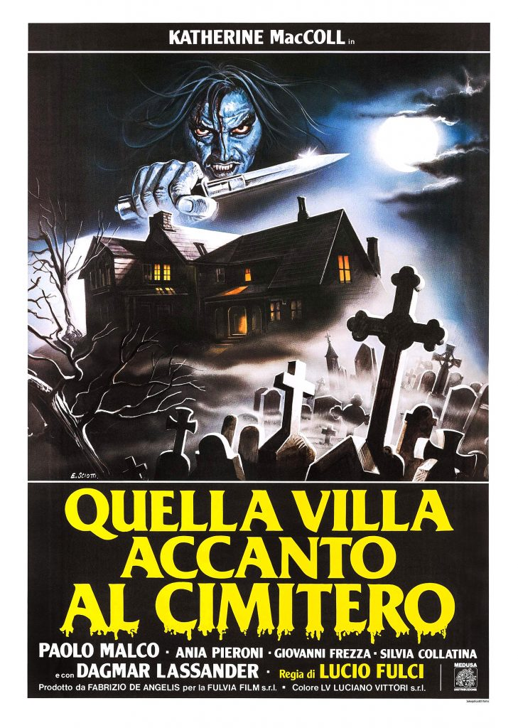 The House by the Cemetery Poster (Italian) (1981)