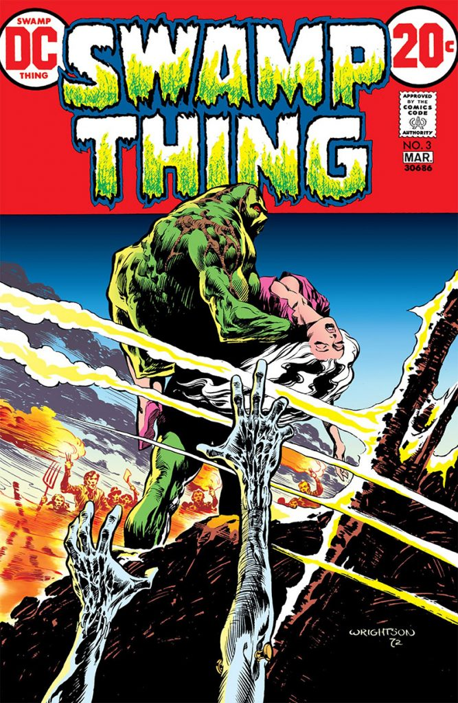 Swamp Thing Vol. 1 #3 from DC Comics