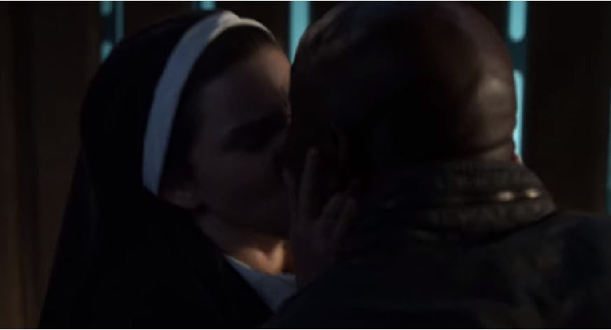 Gift of god (Nun makes out with Amenadiel)