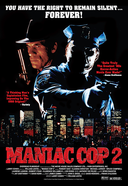 Poster for the movie Maniac Cop 2