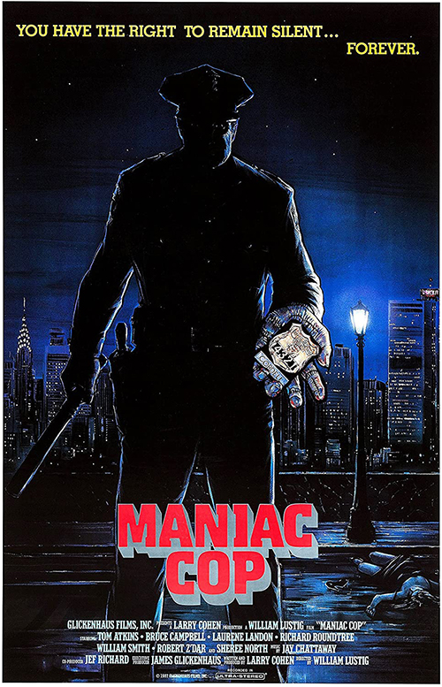 Movie poster for Maniac Cop