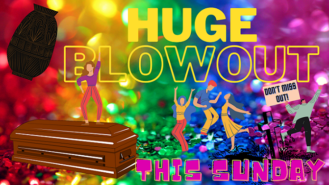 pride month funeral arrangement sales coffins, cremations, and more