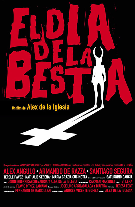 The Day of the Beast Spanish poster (1995)
