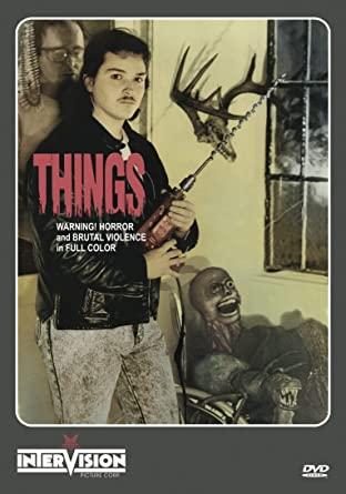 Things VHS box art