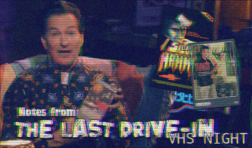 The title card for the last drive-in article