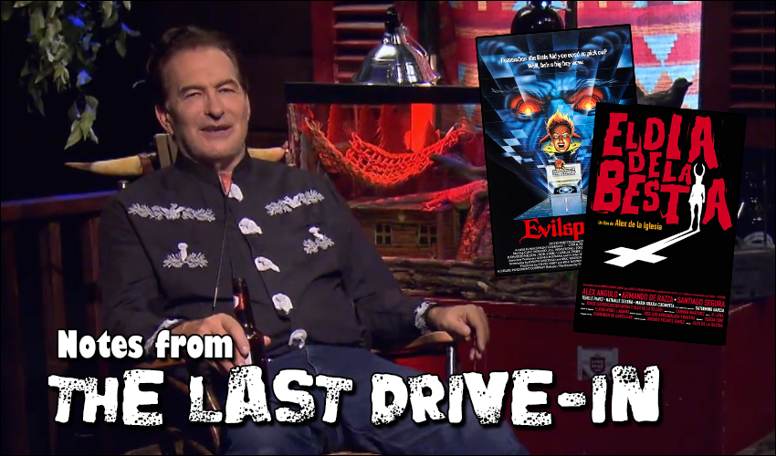 Title card for Notes from The Last Drive-In