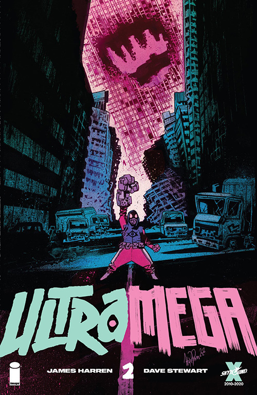 Image Comics' Utramega #2 cover