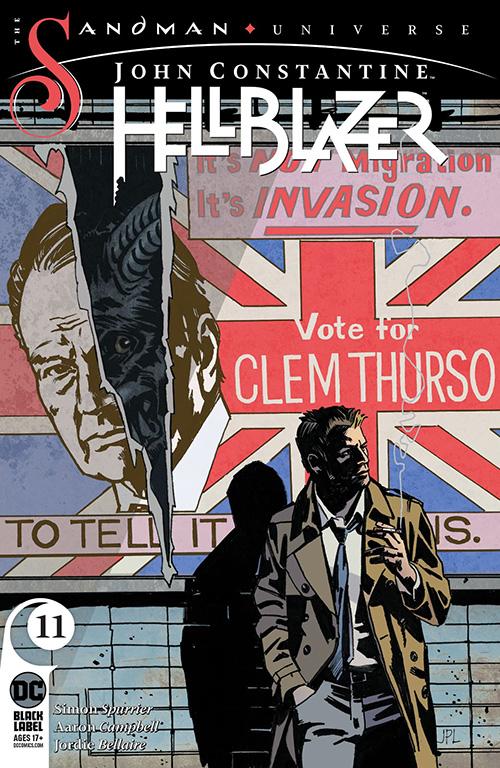 John Constantine, Hellblazer #11 from DC Comics