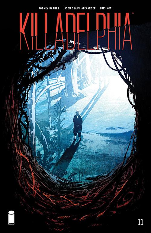 Killadelphia #11 cover from Image Comics