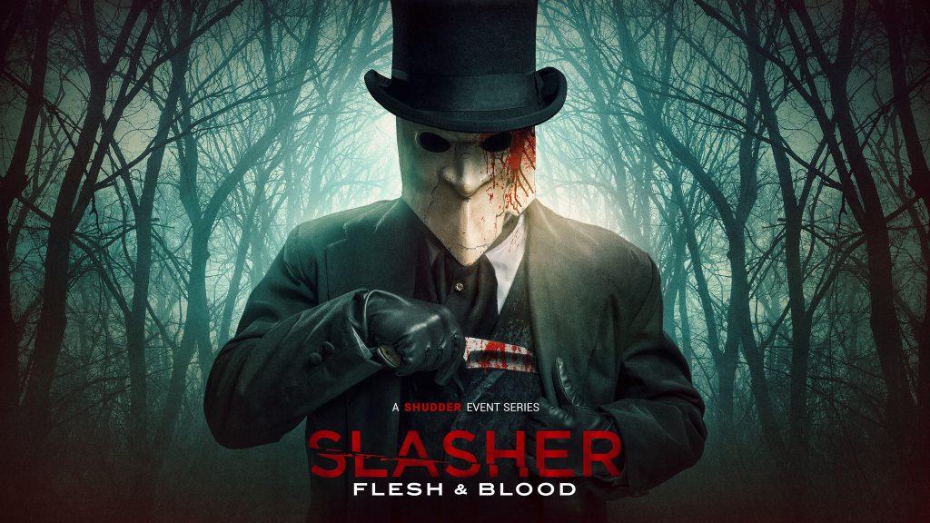 Slasher: Flesh & Blood key-art from Shudder