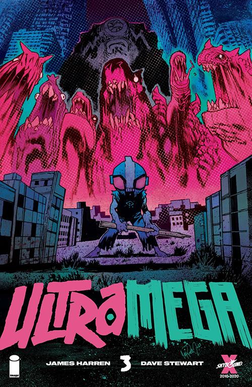 Ultramega #3 cover from Image Comics