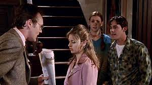 Giles ruins Buffy's plans with prophecies of an Anointed One