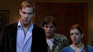Willow, Xander, and Owen hiding out while Buffy finds the Anointed One
