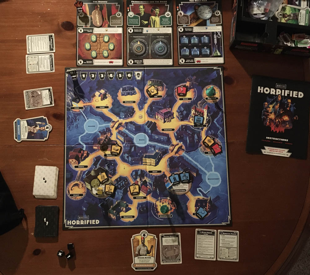 game setup to start a game in Normal mode