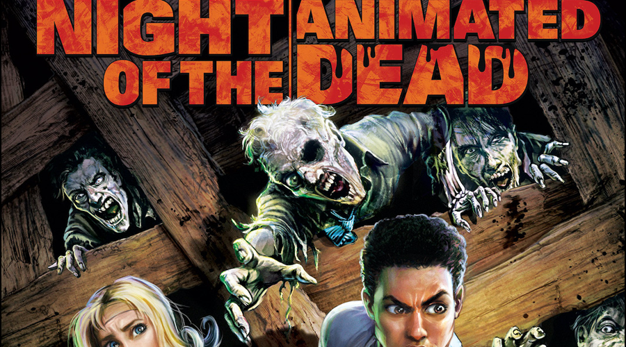 Night of the Animated Dead Coming Soon: Title Card