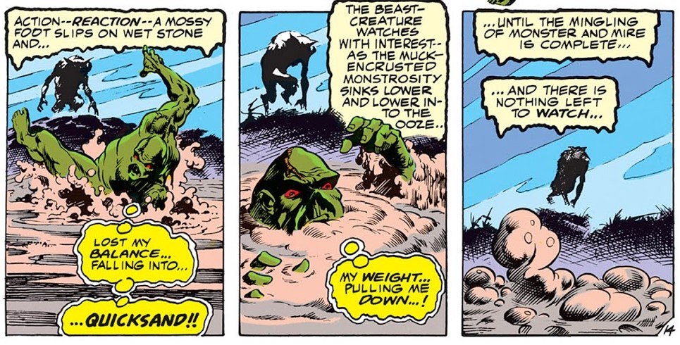 Panels from Swamp Thing #4