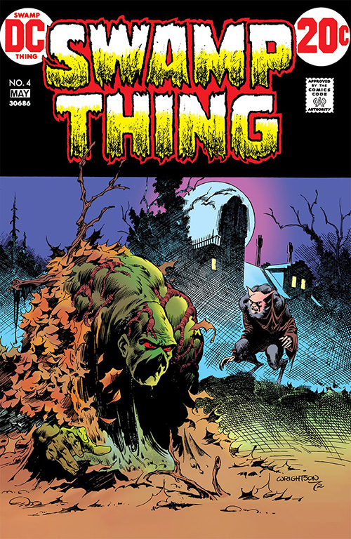 Cover of Swamp Thing #4