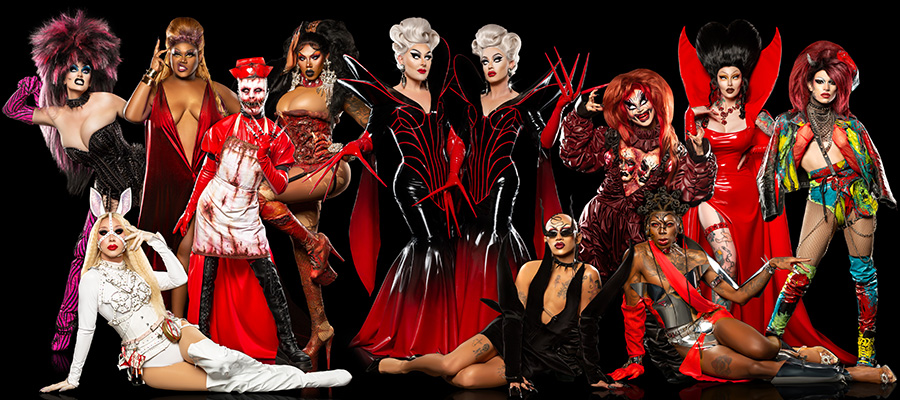 The Boulet Brothers' Dragula cast lineup