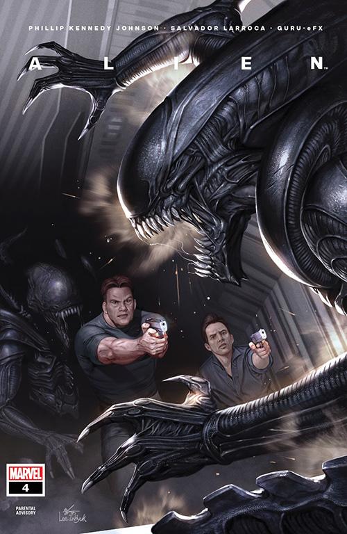 Cover of Marvel's Alien #4