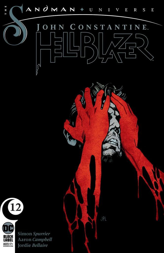 John Constatine, Hellblazer #12 cover from DC Comics