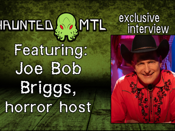 Interview card: Joe Bob Briggs