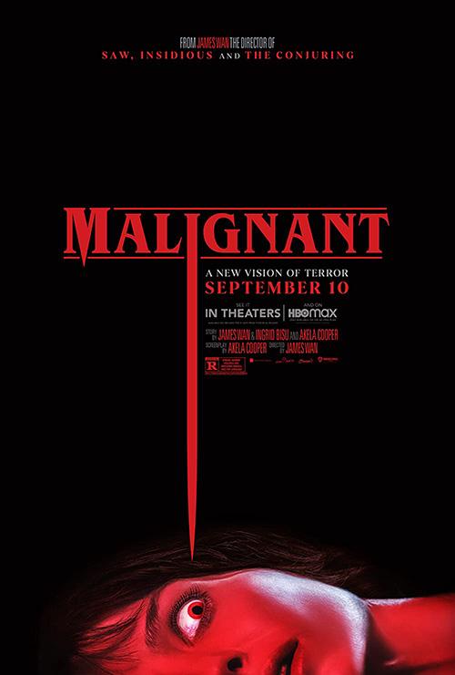James Wan's 2021 Movie Malignant poster