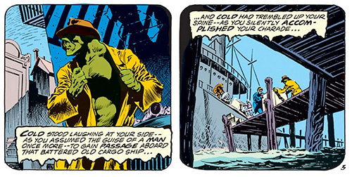 Panels from Swamp Thing #5