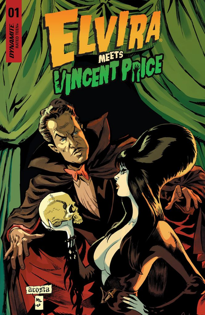 Elvira Meets Vincent Price #1 cover