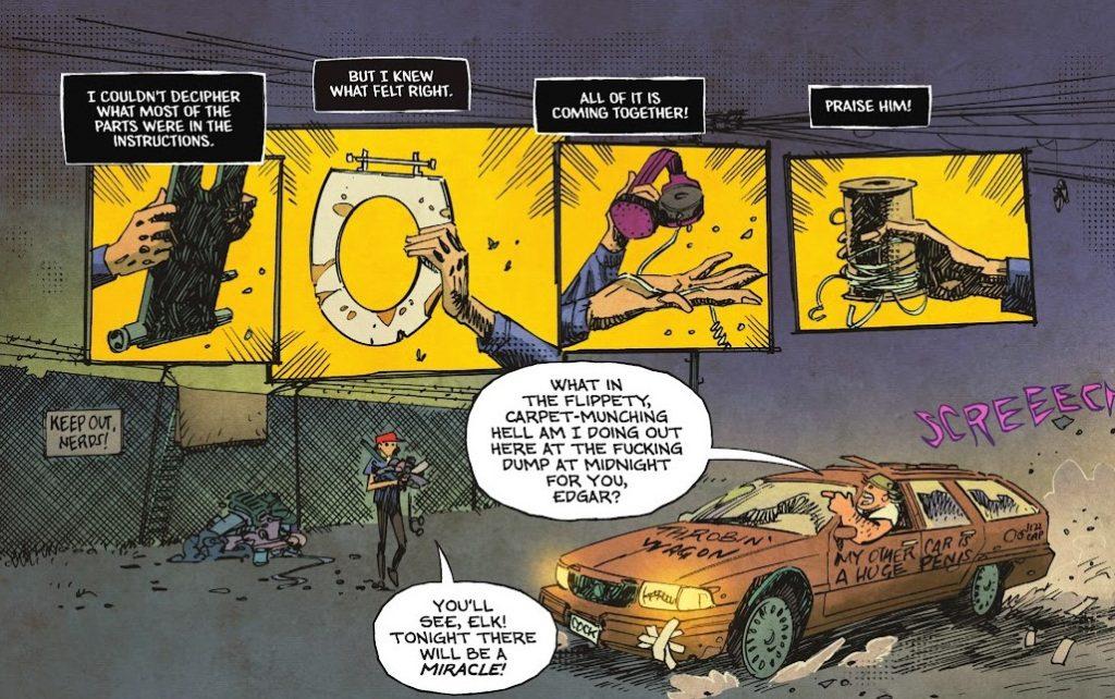 Soul Plumber #1 panels