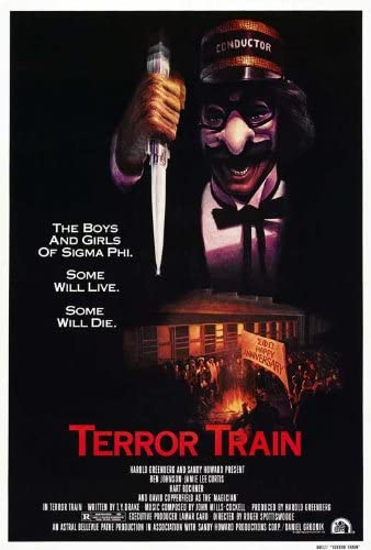 The Last Drive-In Halloween Hoedown poster for Terror Train (1980)